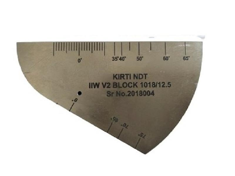 بلوک کالیبراسیون فولادکربنی مدل V2