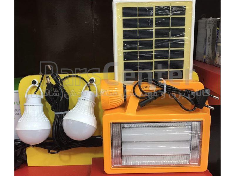 پک خورشیدی همه کاره 6ولت مسافرتی