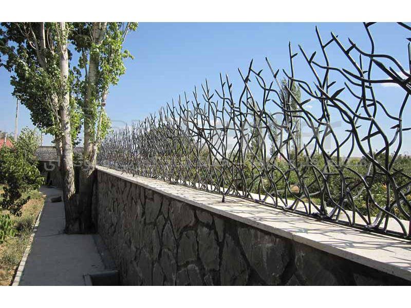 حفاظ شاخ گوزنی حصار بوته ای 75*200