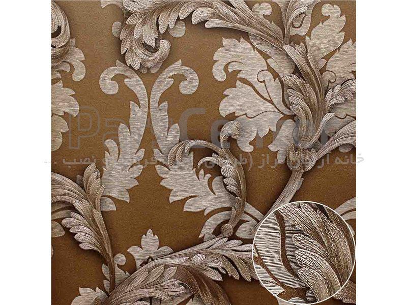 کاغذ دیواری الیافی - اکلیلی - برجسته - براق  فرانسیس 13