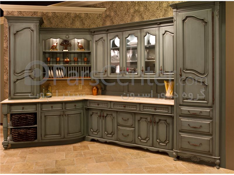 for French chateau kitchen designs