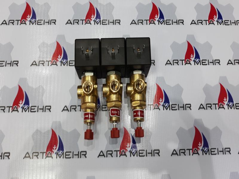 شیر برقی ASCO مدل SCXB320A172M0