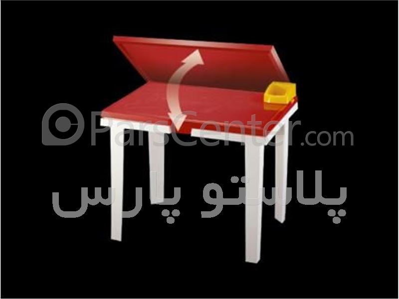 میز فایبرگلاس تحریر کودک 45*60 کد 101827