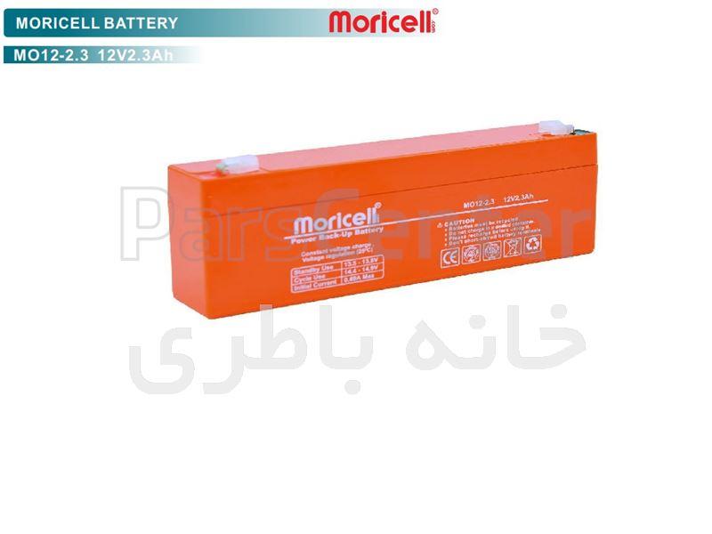 باتری 12 ولت 2.3 آمپر ساعت موریسل