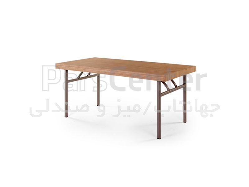 میز فلزی رستورانی مدل F66 پایه جمع شونده (جهانتاب)