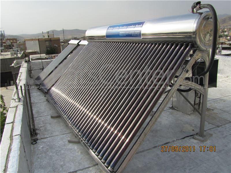 آبگرمکن خورشیدی بدون فشار