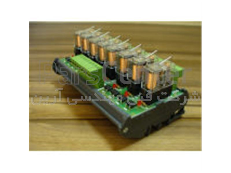 کارت رله دو کانال 10 آمپر، کارت رله 2 کانال با قابلیت نصب روی ریل