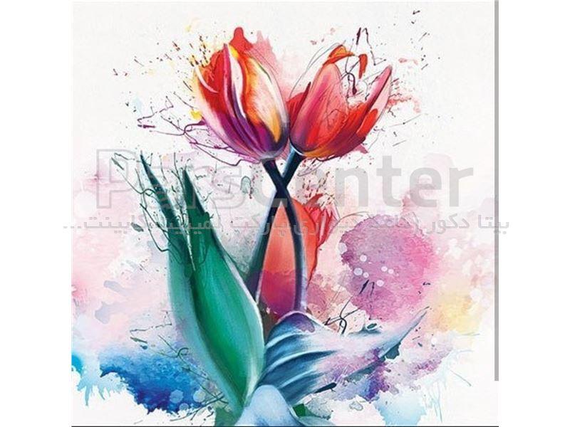 پوستر کاغذ دیواری طرح گل