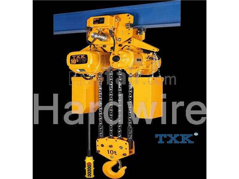 4 Dimensional electric hoist