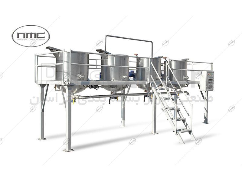 دستگاه سکوی پخت مدل KPT 1750