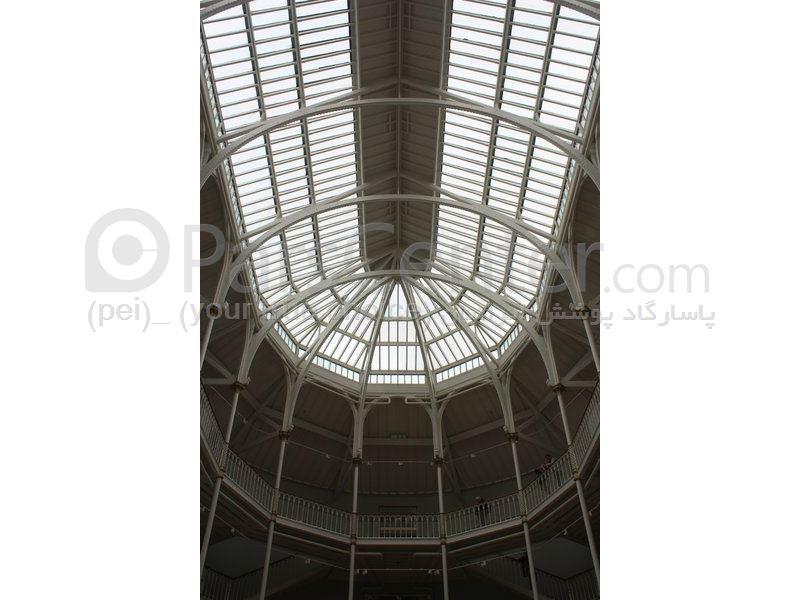 Building skylight _ نورگیر سقف  ثابت مجتمع های تجاری و پاساژ 49