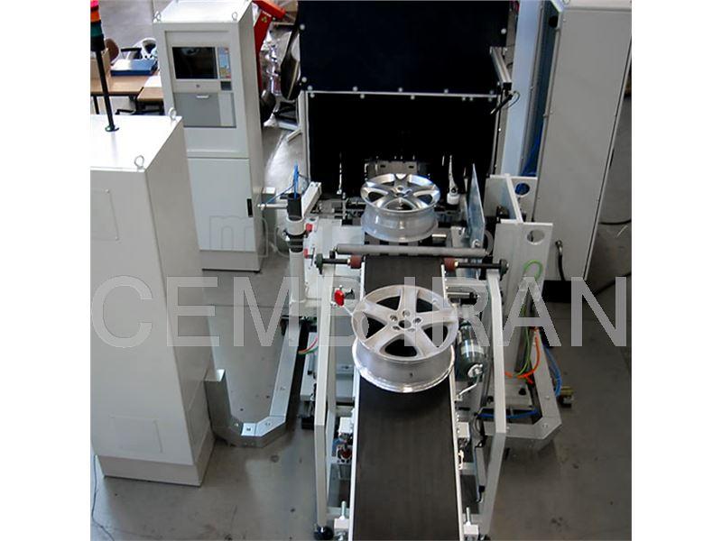 Balancing Machine for Rims - CEMB