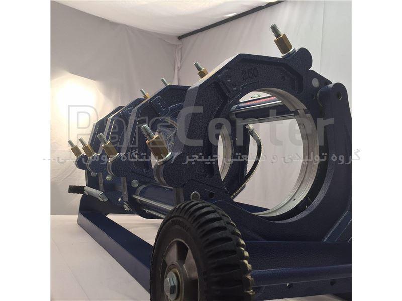 دستگاه جوش پلی اتیلن هیدرولیک 160 جینجر سایز 160-50 م م