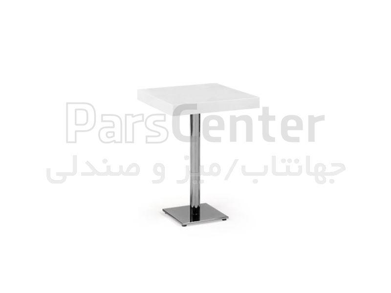 میز فلزی رستورانی مدل 1027L (جهانتاب)