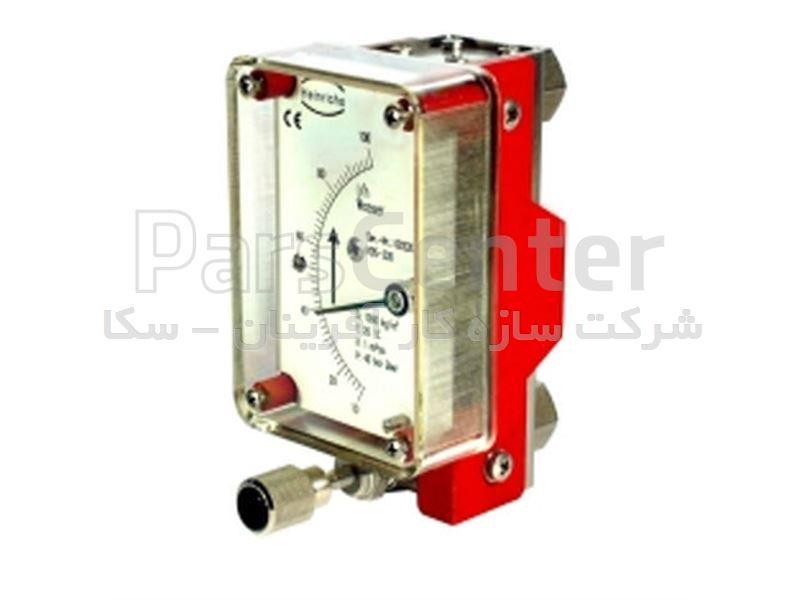 فلومتر آب مدل KDS-120 Heinrichs و variable Area Flowmeter KDS-120