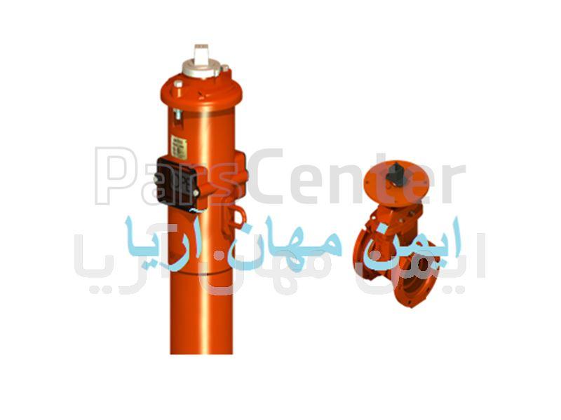 پست ایندیکیتور ولو - پست پلیت ولو (Post Plate Valve & Post indicator valve)