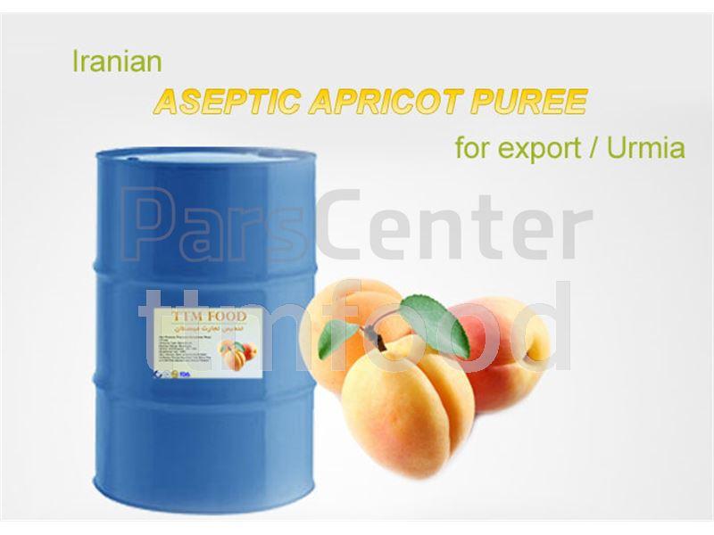 صادرات پوره زردآلو در بسته بندی اسپتیک به ترکیه