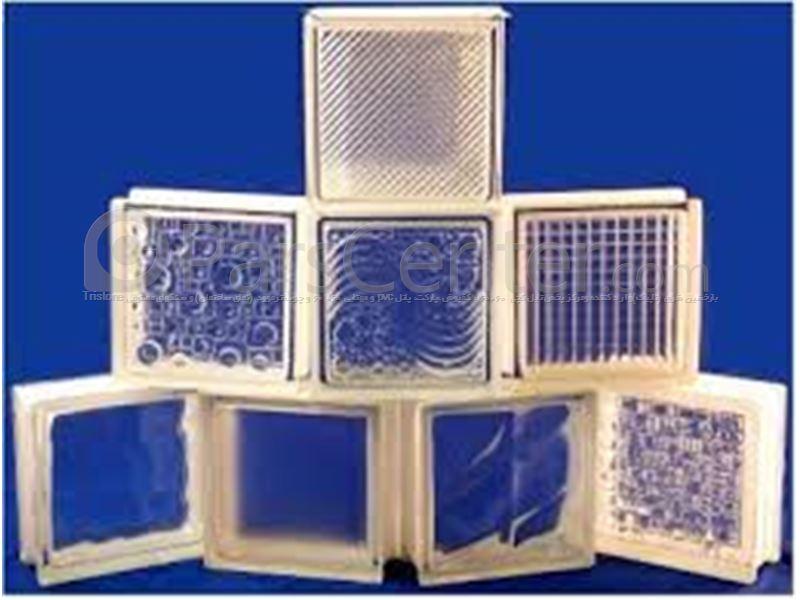 فروشگاه وان و جکوزی آریان - نمونه کار بلوک شیشه اینمونه کار بلوک شیشه ای