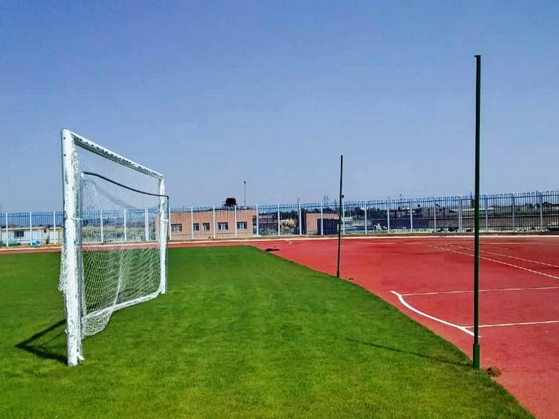 دروازه فوتبال آلومینیمی استاندارد مدل 1F0041