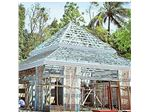 سربندی ال اس اف فولادی- پوشش سقف ال اس اف