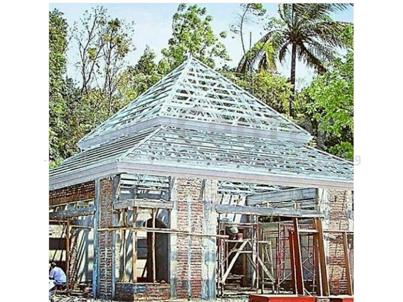 سازه پیش ساخته سربندی ال اس اف فولادی- پوشش سقف ال اس اف