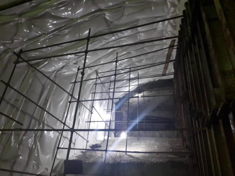 ایزولاسیون وزهکشی تونل مترو - خط 6