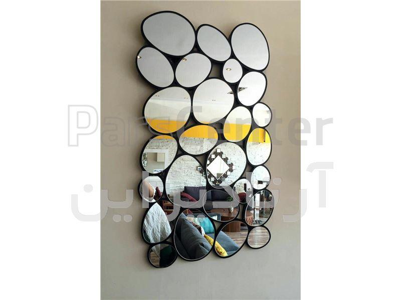 آینه دکوراتیو لانه زنبوری