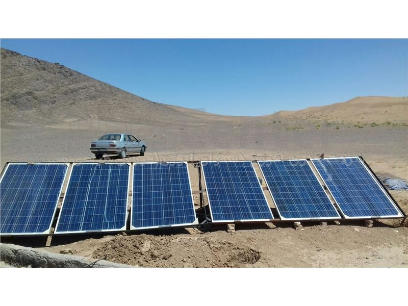 پمپ آب خورشیدی 2 اینچ  228 متری مدل 2018