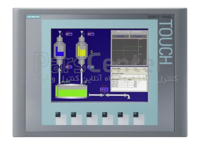 صفحه نمایش لمسی مدل KTP600