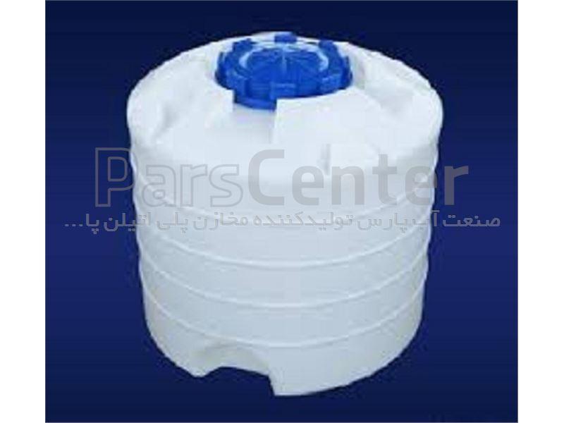 مخزن پلی اتیلن 500 لیتری عمودی کوتاه پلاستونیک