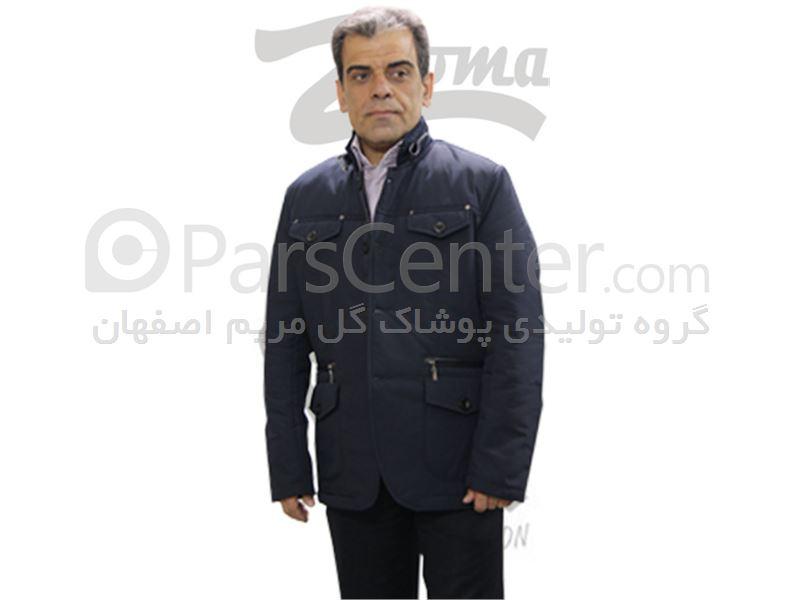 مدل کت یقه بسته کت اسپرت مردانه مدل کنان - محصولات کاپشن در پارس سنتر