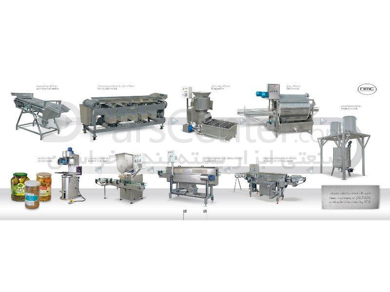 ارائه و راه اندازی خط تولید و بسته بندی زیتون ، زیتون پرورده