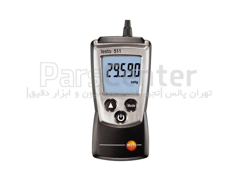 فشار سنج مطلق جیبی Testo 511