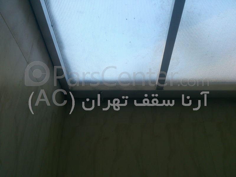 سقف حیاط خلوت (فاطمی-هشت بهشت)
