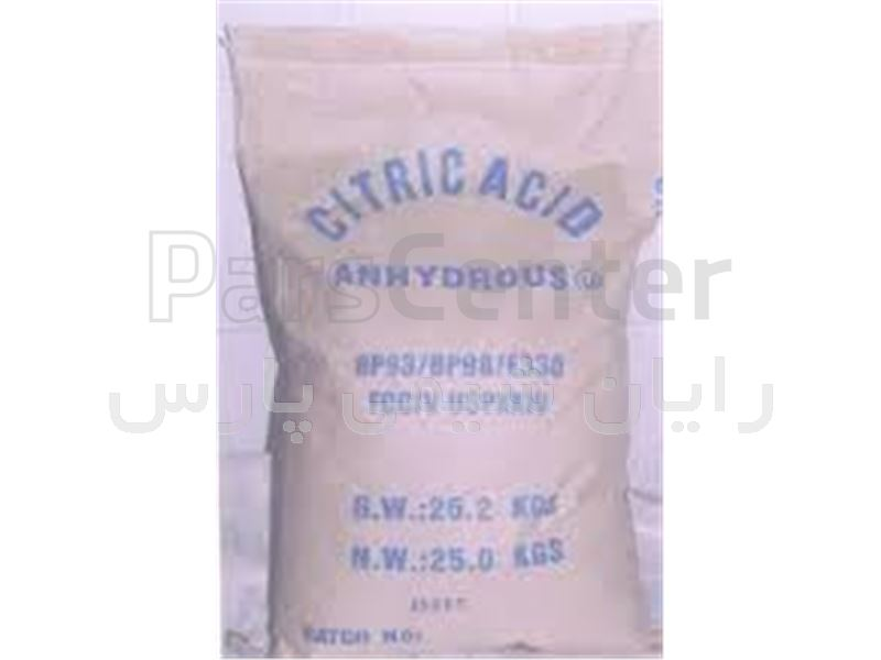 اسید سیتریک ، جوهر لیمو ، سیتریک آبدار ، سیتریک خشک