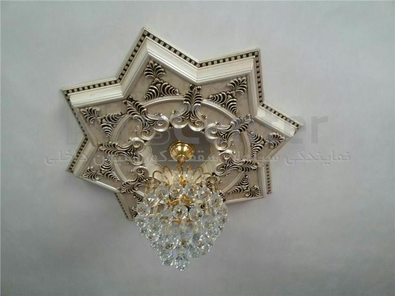 گل سقفی ستاره 95×95 مدل تارا کد 749