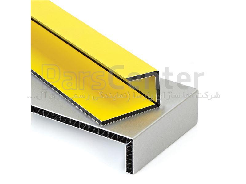 انواع روش نصب پانل ترکیبی الومینیوم کامپوزیت نمای مدرن Aluminium Composite Panel