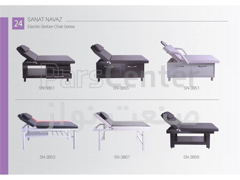 طراحی دکوراسیون آرایشگاه صنعت نواز