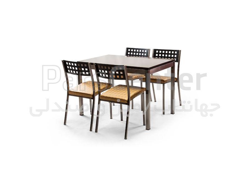 صندلی فلزی فست فودی مدل آدریا Q (جهانتاب)