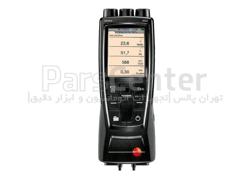 دستگاه اندازه گیری پارامترهای هوا TESTO 480