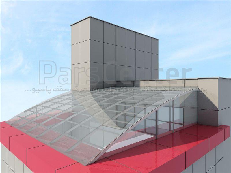 نورگیر سقفی پشت بام PMS PB 08