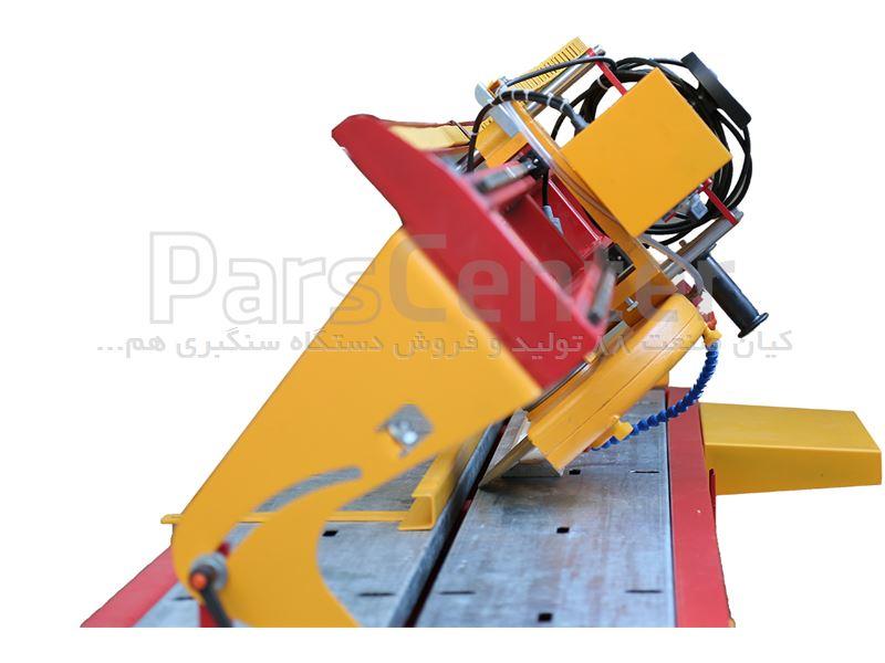 دستگاه سنگبری پرتابل ریلی 2 متری مدل Wolf (ولف) بدنه فولادی موتور ایتالیاییمیل کروم