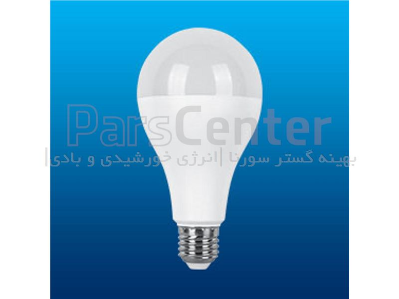لامپ LED حبابی ال ای دی20واتE27 فوق کم مصرف