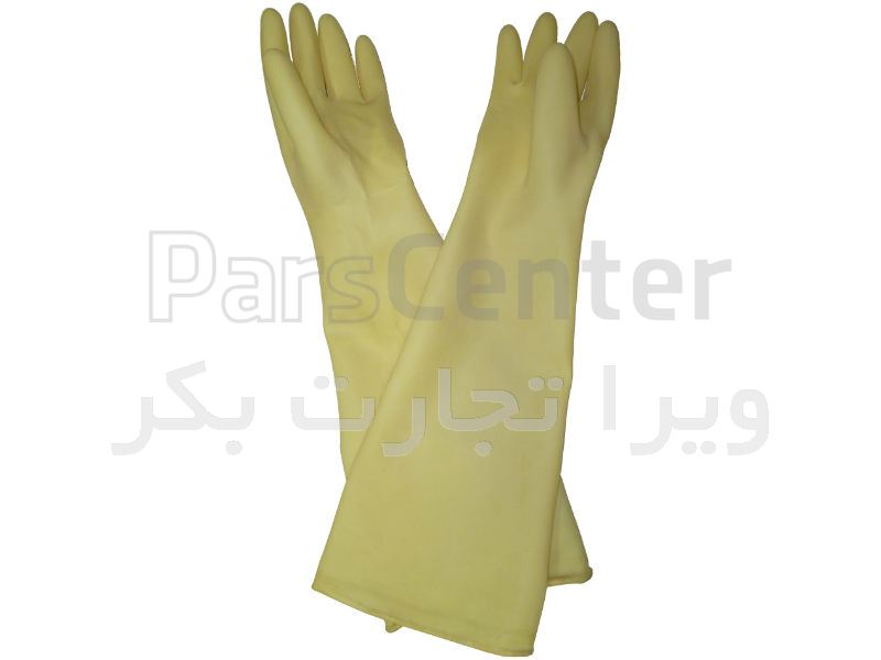 دستکش گلاوباکس لاتکس مدل 7LY1528/9H