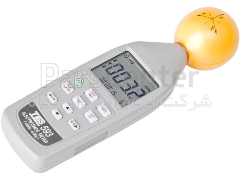 دستگاه اندازه گیری پرتوهای رادیویی و مایکروویو Tes 593