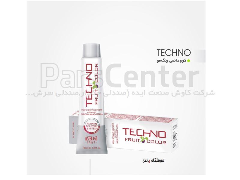 رنگ مو تکنو الترااگو ایتالیا techno color