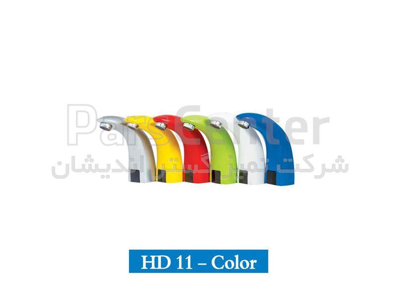 شیرآب اتوماتیک رنگی مدل HD11