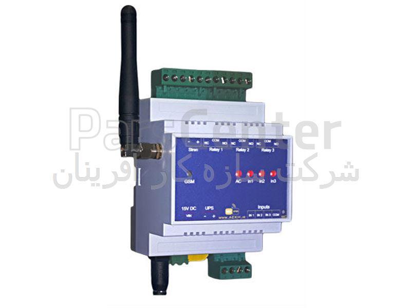 کنترلر دما از طریق ارسال پیامک