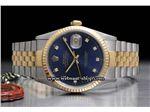 ساعت رولکس high copy مدل  DATEJUST- شیشه ضد خش -بند استیل - صفحه سورمه ای