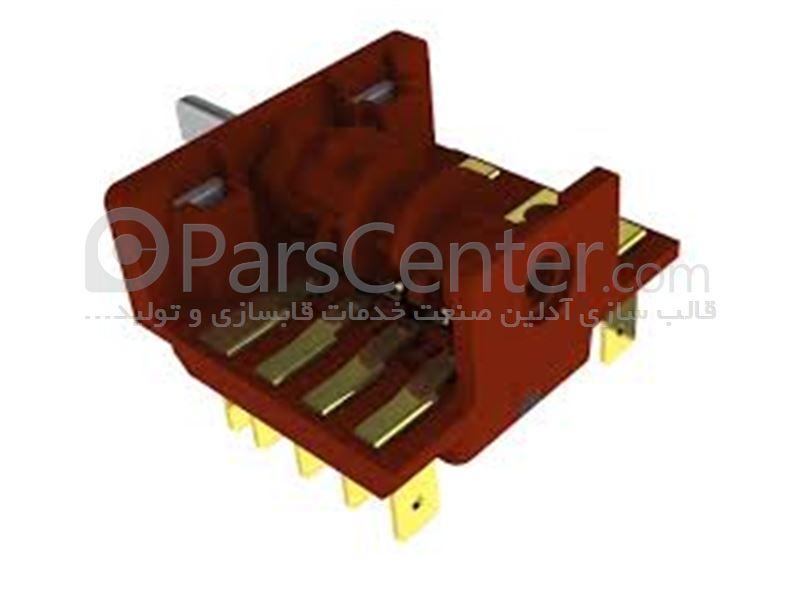 ساخت قالب تزریق پلاستیک انواع سوکت برقی و کلید پریز ساختمانی و صنعتی